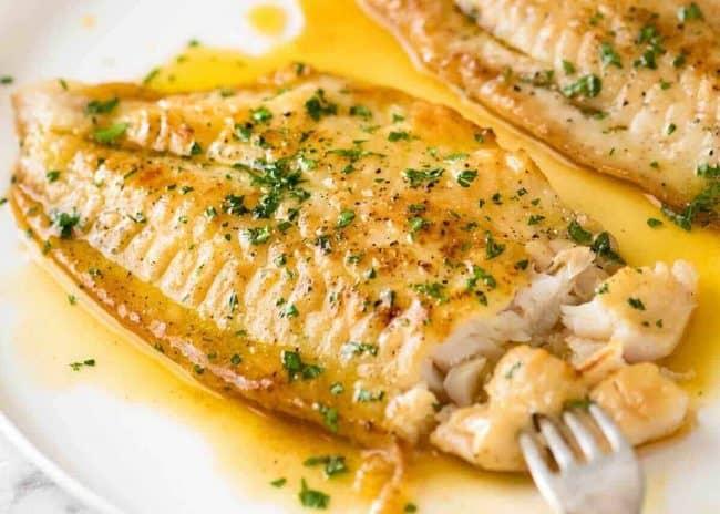 Keto Lemon Butter Sauce Fish Recipe
